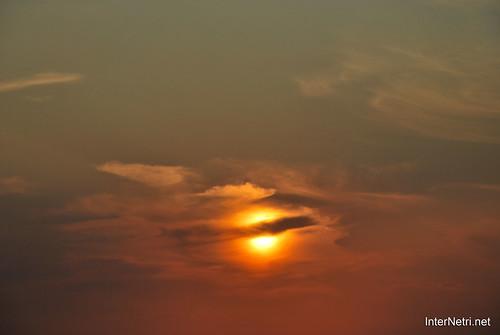 Небо Захід сонця InterNetri Ukraine  07