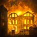 Fire at the Opera House of the Palais-Royal - Hubert Robert