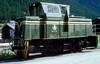 Nr.74  Zermatt  26.08.95 (w. + h. brutzer) Tags: zermatt diesellok dieselloks eisenbahn eisenbahnen train trains railway schweiz switzerland lokomotive locomotive zug bvz mgb schmalspurbahn schmalspurbahnen webru analog nikon