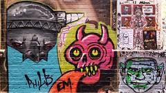 Philb, Em, 2B & Pike... (colourourcity) Tags: colourourcity originalcontent streetart streetartaustralia streetartnow graffiti melbourne burncity awesome nofilters streetartmelbourne graffitimelbourne laneways philb em 2b twobee basics pkie tcf thechosenfew section8