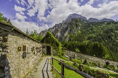 The mountaineer cemetery in Johnsbach (a7m2) Tags: johnsbach admont styria gesäuse ennstal nationalpark natur friedhof gedenkstätte mountains gebirge churchofstegidius mountaineercemetery