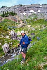 Jason, AKA: Two Sticks Walking (Ken Zaremba) Tags: cascademountains geography goatrockswilderness group jason northamerica outdooractivities outdoorsports snoqualmienationalforest travelers unitedstates washington washingtonstate backpacking camping hiking travel yakima geo:state=washington geo:location=unnamedroad geo:lat=46501198666667 geo:country=unitedstates geo:lon=1213889265 geo:city=yakima