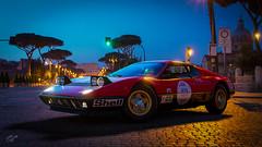 Ferrari 512BB '76 (chumako@bellsouth.net) Tags: ferrari 512bb millemiglia italy 1000 miglia 1976 ps4 gt sport cars rally red transportation night