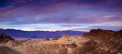 Zabriskie Point Panorama (Graeme Tozer) Tags: deathvalleynationalpark california usa zabriskiepoint panorama desert deathvalley sunrise