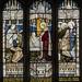 Epworth, St Andrew's church window