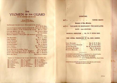 1921: Jan Programme 2