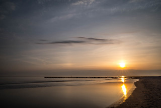 Sunrise at the Baltic Sea - Zingst, Mecklenburg-Vorpommern