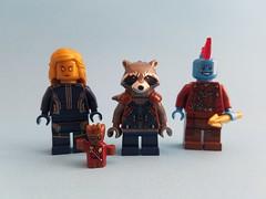 Infinity Countdown #2: Guardians of the Galaxy Vol. 2 (Brick-Pics) Tags: 2 lego marvel guardians galaxy rocket raccoon ayesha groot yondu infinity war sovereign