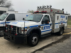 NYPD (New York City Police Department) Emergency Service Squad 8 Ford F-550 REP (NY's Finest Photography) Tags: highway patrol state nypd fdny ems police law enforcement ford dodge swat esu srg crc ctb rescue truck nyc new york mack tbta chevy impala ppv tahoe mounted unit rema retired emergency man association sod day remembrance 2018