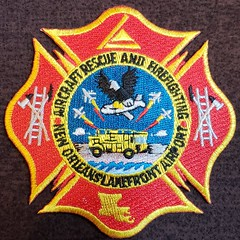 New Orleans Lakefront Airport ARFF Patch (cozmosis) Tags: neworleans louisiana firedepartment nofd firedept fd orleansparish patch firedepartmentpatch patchcollection firefighter firefighting fireservice uniform uniforms emblem insignia embroidered embroidery