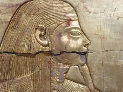 Underworld Deity (Aidan McRae Thomson) Tags: tutankhamun relief golden gilded ancient egyptian cairo museum egypt
