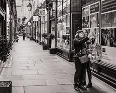 Arcade Selfie (raymorgan4) Tags: selfie arcade cardiff morgan quarter blackandwhite shoppers mother daughter happy enjoyment smiles smiling wales cymru cymraeg canon eos 1300d bangolufsen olufsen bang