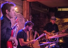 20180107_0088_1 (Bruce McPherson) Tags: brucemcphersonphotography theelectricmonks timsars emilychambers brendankrieg guiltco livemusic jazzmusic livejazzmusic saxophone trombone guitar electricguitar electricbass bass drums jazzdrummer lowlight lowlightphotography concert gastown vancouver bc canada