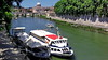 Roma, il fiume Tevere (gerard eder) Tags: world travel reise viajes europa europe italy italia italien lazio rom roma rome fiume fiumetevere tevere city ciudades cityscape cityview wasser water boats boote barcas skyline outdoor flus river rio