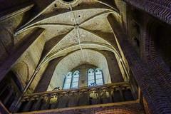 18-05-05 NL amersf kirchturm gewölb mau dsc01451-1 (u ki11 ulrich kracke) Tags: nl amersfoort empore fenster froschp geometrie gewölbe gitter gotik maueralt lookingup crazytuesdaytheme 7dwf