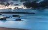 Daybreak Seascape with Clouds and Rocks (Merrillie) Tags: daybreak sunrise nature dawn clouds centralcoast morning northpearlbeach sea newsouthwales rocks pearlbeach nsw sky rocky ocean earlymorning landscape australia coastal waterscape outdoors seascape waves coast water seaside