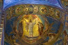 Mosaic Transfiguration, artist N.A. Koshelev (atardecer2018) Tags: санктпетербург храм архитектура sanpetersburgo architecture arquitectura iglesia church orthodox