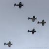 Corsair Formation Flight (Norman Graf) Tags: f4u4 airshow aircraft f4u7 2017planesoffameairshow airplane n1337a f4u1 fg1d n4tf n29vf n11y 799 f4u chancevought 3884 corsair fighter goodyear nx1337a nx29vf nx83782 plane wwii warbird flight formationflight