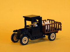 Ford T truck (| Nouvilas ⟩) Tags: lego minifig car ford t truck 1930s harlem