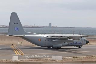 C130H HERCULES CH-09 BELGIAN AIR FORCE \ UNITED NATIONS