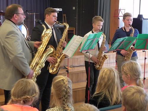 2015_Põltsamaa Muusikakooli saksofoniansambel_Põltsamaa Ühisgümnaasium