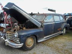 1947 Cadillac Fleetwood 75 (splattergraphics) Tags: 1947 cadillac fleetwood fleetwood75 patina carshow carlisle fallcarlisle carlislepa