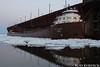 keb42218dkngt_rb (rburdick27) Tags: ice sunset kayeebarker interlakesteamshipcompany oredock marquette lakesuperior