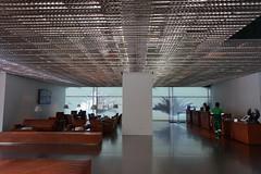 2018-04-FL-183472 (acme london) Tags: aluminium aluminiumreflectors barcelona ceiling fira hotel interior jeannouvel leatherfurniture lobby renaissancehotelfira spain suspendedceiling