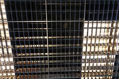 2018-04-FL-183473 (acme london) Tags: aluminium aluminiumreflectors barcelona ceiling fira hotel interior jeannouvel lobby renaissancehotelfira spain suspendedceiling