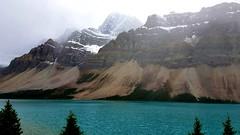 #A02 Cruising at Bow Lake. (briolette001) Tags: bowlake alberta albertacanada banffnationalpark canadianrockymountain canada canadarockymountains