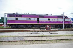 acle6 (Fan-T) Tags: acl e6 champin purple atlantic coast line spencer north carolina museum emd streamlner