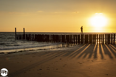 Enjoying the sunset (Frankhuizen Photography) Tags: enjoying playing dishoek netherlands 2018 landscape landschap strand beach sea zee zeeland sealand sunset zonsondergang seascape zeelandschap fotografie photography water vebenabos walcheren sky people ocean sand zon sun light