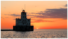 First Sun, Last Blink (David C. McCormack) Tags: eos6d environment greatlakes harbor inspiration lakemichigan lakefront lake landscape lighthouse midwest milwaukee milwaukeeriver outdoor sunrise sunriseset wisconsin water