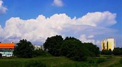 Forrongó égbolt (Szombathely) (milankalman) Tags: cloud storm weather summer white sky