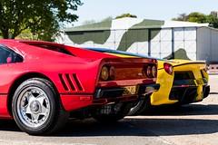Ferrari 288 GTO & LaFerrari - Brooklands Auto Italia (E_W_Photo) Tags: ferrari 288gto laferrari brooklands autoitalia canon 80d sigma 1750mm