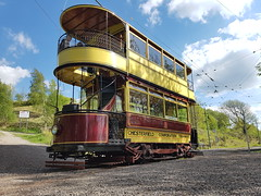 Chesterfield Corporation Tramways 7 - Crich Tramway Village (burbman20) Tags: chesterfield corporation tramways crich tramway village national musuem glory mine heritage 1907