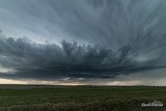 Darkening Clouds (kevin-palmer) Tags: spring may wyoming nikond750 storm stormy thunderstorm clouds weather supercell lagrange sky green grass samyang rokinon14mmf28 hills