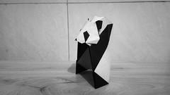 熊猫 (guangxu233) Tags: origami origamiart paper art paperart paperfolding hideokomatsu panda 折纸 折り紙作品 折り紙