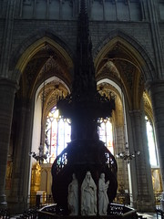 Esculturas pulpito interior Catedral San Pablo Cathédrale Saint Paul Lieja Belgica 02 (Rafael Gomez - http://micamara.es) Tags: esculturas pulpito interior catedral san pablo cathédrale saint paul lieja belgica valonia bélgica