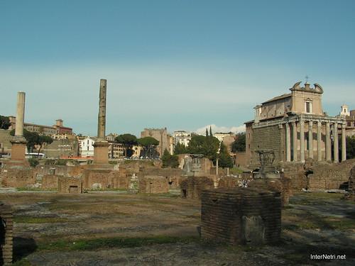 Римський форум, Рим, Італія InterNetri Italy 517