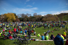 #POP2018  (214 of 230) (Philip Gillespie) Tags: pedal parliament pop pop18 pop2018 scotland edinburgh rally demonstration protest safer cycling canon 5dsr men women man woman kids children boys girls cycles bikes trikes fun feet hands heads swimming water wet urban colour red green yellow blue purple sun sky park clouds rain sunny high visibility wheels spokes police happy waving smiling road street helmets safety splash dogs people crowd group nature outdoors outside banners pool pond lake grass trees talking bike building sport