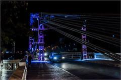 Puente Colgante -Santa Fe, Argentina- (Lucio_Vecchio) Tags: puente colgante bridge noche nocturna nikon d5500 argentina street callejera