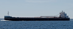 Joseph L Block (joeldinda) Tags: ship laker freighter lakemichigan vacation michigan sky 2383 june josephlblock josephblock bulker lakesboat boat straitsofmackinac d300 nikon nikond300 greatlakes cruise 2014