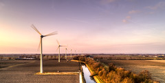 Wind energy. (Alex-de-Haas) Tags: oogvoornoordholland dji dutch fc6310 holland nederland nederlands netherlands noordholland aerial aerialphotography air boerenland drone energie energy farmland landscape landschaft landschap lucht meadows skies sky sundown sunset weilanden wind windmill windturbine windmolen winter zonsondergang oudkarspel nl