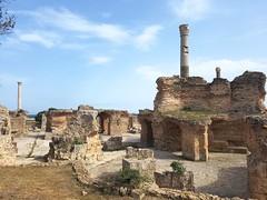 Karthago, Antoninus-Pius-Thermen, um 160 n.Chr.