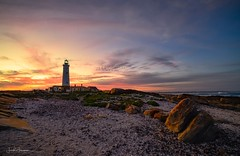 Let me be your Beacon of Light*~ (swazileigh/ Langman Lightscapes) Tags: capestfrancis southafrica lighthouse capestfrancislighthouse sunshine sunlight sunset sunscape rocks redrocks beach jeffreys bayoceanoceanscapeindian oceancloudscloudscapelandscapelandscape photographylangman lightscapesdusklighttwilightnikonnikon d800singh ray filterssingh raywaterbeachscapebeach beautiful