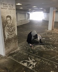 Androiben (svennevenn) Tags: gatekunst streetart bergen androiben graffiti tegning drawing paintings fridakahlo