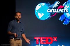 Mr. Pritham Kumar (TEDxGlobalAcademy) Tags: tedxglobalacademy lighting desiger theatre