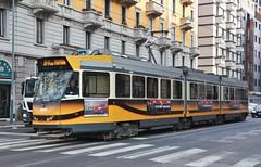 Milano, Viale Corsica 17.01.2018 (The STB) Tags: tram tramway tranvía strassenbahn strasenbahn milano milan milán publictransport citytransport öpnv