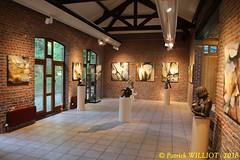 IMG_9424 (Patrick Williot) Tags: exposition vernissage ecuries sculpteur michal peintre genevieve nicolas